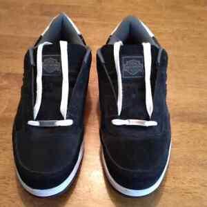 Harley Davidson Static Leather Steel Toe Work Shoes  Men size 15