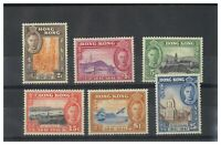 Hong Kong 1941 Centenary Set of 6 Stamps SG163/68 (Sc.168/73) MLH 16-17