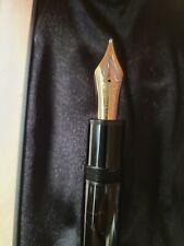Montblanc Meisterstuck 149  Gold Two tone - 18k Nib M - Fountain Pen 1980s