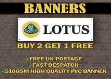 LARGE 2 METRE Lotus Car Banner for Garage / Shop / Promotional Item Elise