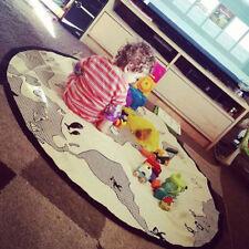 New Creative World Map Pattern Baby Crawling Mat Game Play Mats Kids Carpet Pads