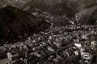 Bad Lauterberg  Harz alte Postkarte ~1950/60 Gesamtansicht mit Umgebung Luftbild