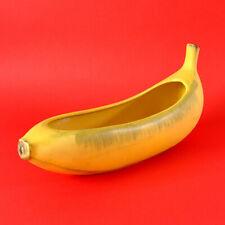 KERAMIKSCHALE in Bananenform, Banana Bowl, 60er Jahre