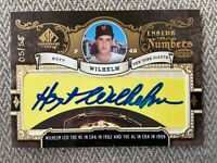 """2007 Legendary Cuts Hoyt Wilhelm On-Card SP Auto """"Inside The Numbers""""' #5/55.!!"""