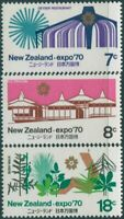 New Zealand 1970 SG935-937 World Fair Osaka set MNH