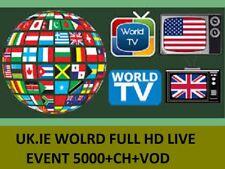 Suscripción de IPTV HD 12 meses Reino Unido Juicio zgemma Firestick Android Smart TV MAGbox