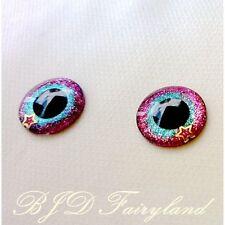 Blythe eye chips eyes cloud purple red + blue 1 pair by BJD fairyland