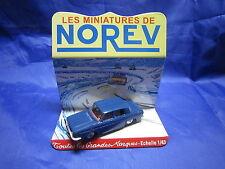 DV6266 NOREV RENAULT 10 R10  BERLINE PLASTIQUE BLEU FONCE Ref 9 1/43 TBE