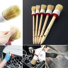 5 X Soft Bristle Brush Automobile Truck  Center Console engine  Cleaning Tool
