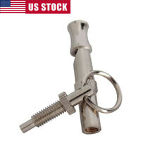 Pet Dog Whistle Stop Barking Silent Control Sound Repeller Training Whistle Ring
