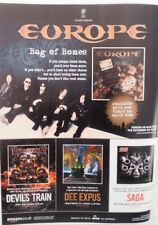 EUROPE Bag Of Bones 2012  magazine ADVERT/Poster/clipping 11x8 inches