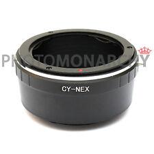 Anello adattatore obiettivo CY CONTAX YASHICA su SONY NEX ALPHA A7S A7S II A7R