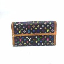 Authentic Louis Vuitton Monagram International Wallet Multicolor