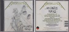 METALLICA And Justice For All 1988 CD Blackened Eye of Beholder 80s Power Metal