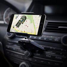 IPOW Universal Car Phone Holder CD Player Slot Car Mount Holder Phone Cradle