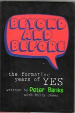 Beyond and Before by Billy James and Peter Banks (2001, Hardcover) + CD - NEW!