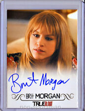 TRUE BLOOD PREMIERE BRIT MORGAN AUTOGRAPH