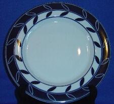Dansk Allegro Blue Accent Salad Plate Lg Leaves On Ring Sri Lanka