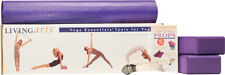 Yoga Living Arts Yoga Tool Set by Gaiam Blocks, Mat, Straps Beginner Exercise