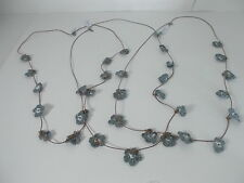 AEO American Eagle Outfitters  Crochet Flower Necklace  NWT $12.5 Set of 3 Piece