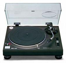 >> Technics sl-1210mk2 Ex-Display audiófilo Tocadiscos (incluyendo Acrílico Tapa)