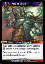 WOW WARCRAFT TCG WAR OF THE ANCIENTS : KISS OF DEATH X 3