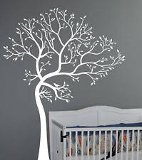 Wall Decal  BIG TREE WITH BIRD  Deco Art Sticker Mural
