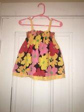 Hanna Andersson Infant 2 Pc Floral Size 70, Euc 6-12 Months