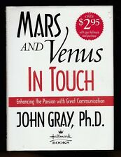 Mars and Venus in Touch by John Gray (2000, Hardcover), Signed