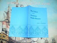 Davenport, John S.: The Talers of the Austrian Noble Houses