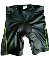 NIKE Tri Shorts Men's M Black With Triathlon Pad.