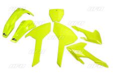 UFO Motocross Plastic Kit HUSQVARNA TC 125 300 350 450 16 - 17 Flou Yellow