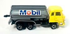 Vintage 1980s Zee Toys Zylmex Cement Mixer Mobil Oil Truck w/ Pull Out Gas Hose