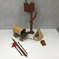 Vintage 1970's Toy Wagon Tent Tree Fort