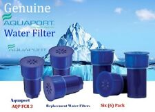 Aquaport Replacement Carbon Filter Cartridges - 6 Pack AQP-FCR3