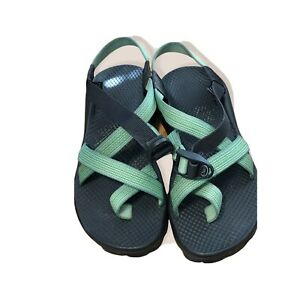 Chaco Z1 Classic Womens Sport Hiking Adjustable Sandals Vibram Sole Size W7