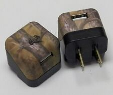NEW Longleaf camo wall charger adapter, single port, 1 Amp Green Camo