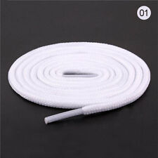 White Women Men Rope Waxed Round Cord Dress Shoe Laces Colourful Shoelace 1M
