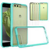 Hybrid Slim Hard Clear Silicone Case Shockproof Rubber Bumper Phone Cover Skin