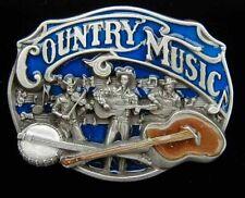 COUNTRY MUSIC BELT BUCKLE BUCKLES NICE LOOK!