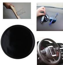Soporte silicona antideslizante salpicadero  redondo 8cm para móvil y objetos