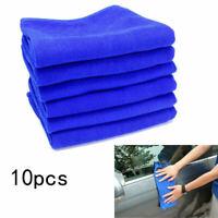10X Soft Microfiber Cloth Super Absorbent Car Wash Dry Cleaning Polishing Towel