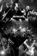 METALLICA POSTER LIVE COLLAGE