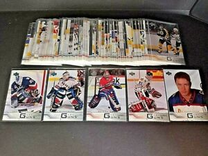 2001-02 UPPER DECK YOUNG GUNS SERIES 1 & 2  FINISH YOUR SET YOU PICK