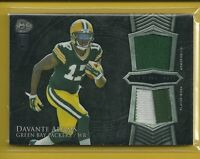 Davante Adams RC 2014 Bowman Sterling Rookie Dual Relic Jersey Green Bay Packers