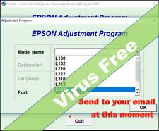 RESET epson L130 L132 L220 L222 L310 312 365/66-UNLIMITED 1PC_Send to your eMail