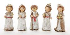 Delton Kids Youth Nativity Collection Holy Family Christmas 5 Pc Figure Set New