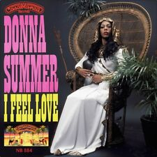 "7"" DONNA SUMMER I Feel Love 5:53min GIORGIO MORODER US-Press CASABLANCA 1977"