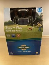 PetSafe Stay And Play Compact Wireless Fence 5lbs+ PIG00-12917 3/4 Acre Radius