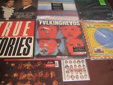 TALKING HEADS BYRNE TRUE STORIES COLLECTION 7 TITLES 10 SIDES 180 GRAM + BEST CD